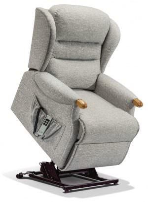 Sherborne Standard Ashford Knuckle Fabric Riser Recliner chair