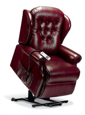 Sherborne Standard Lynton Leather Riser Recliner chair