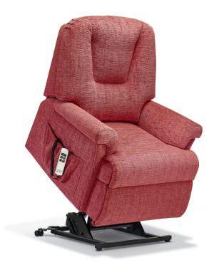 Sherborne Milburn Petite Fabric Riser Recliner chair