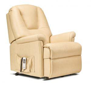 Sherborne Small Milburn Leather Riser Recliner chair