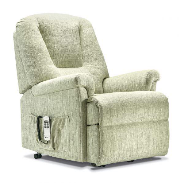 Sherborne Standard Milburn Fabric Riser Recliner chair