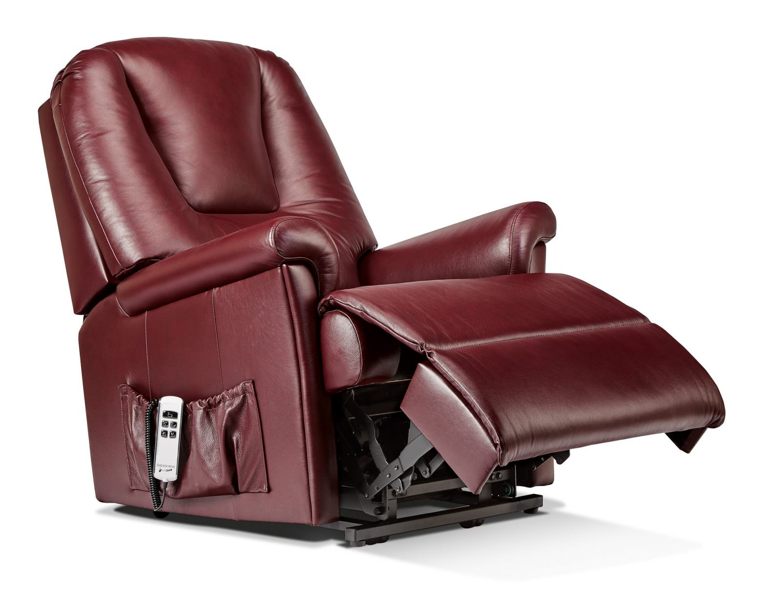Sherborne Standard Milburn Leather Rise Amp Recliner Chairs