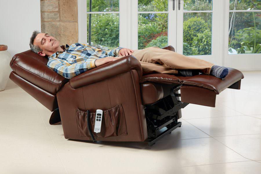 Sherborne Milburn Royale Leather Riser Recliner chair