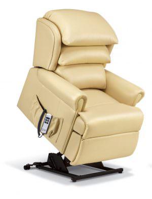 Sherborne Windsor Petite Leather Riser Recliner chair