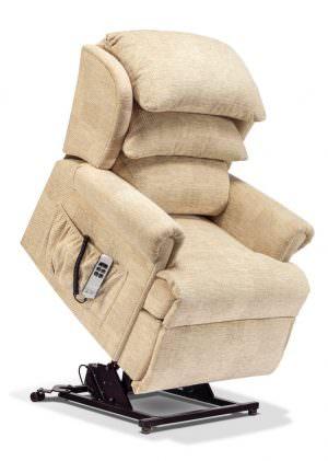 Sherborne Windsor Petite Fabric Riser Recliner chair