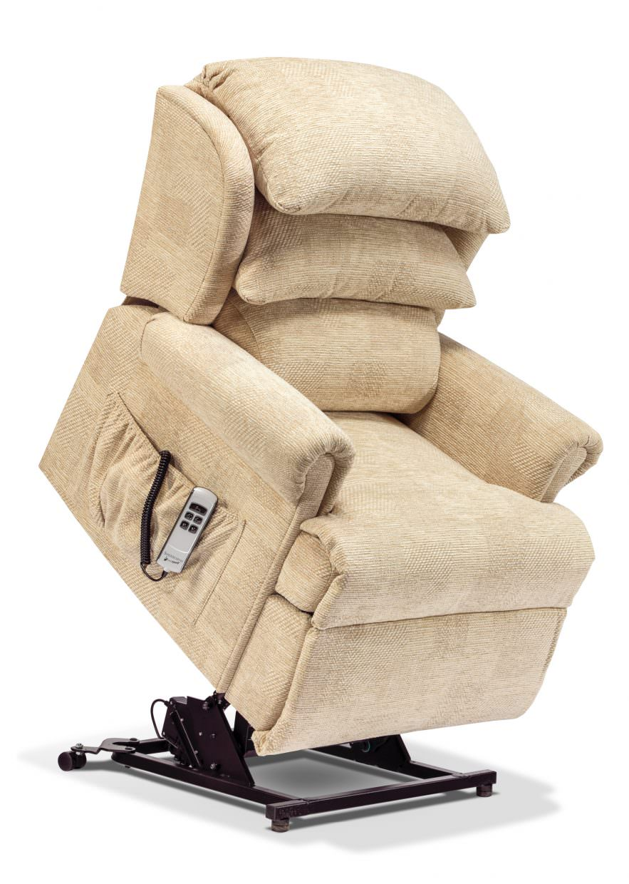 Sherborne Windsor Petite Fabric Rise Amp Recliner Chairs