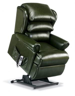 Sherborne Small Windsor Leather Riser Recliner chair