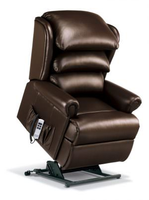 Sherborne Windsor Royale Leather Riser Recliner chair