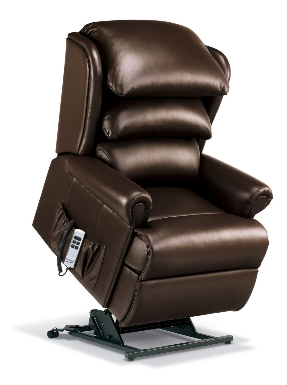 Sherborne Windsor Royale Leather Rise Amp Recliner Chairs