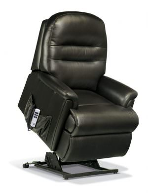 Sherborne Keswick Petite Leather Riser Recliner chair