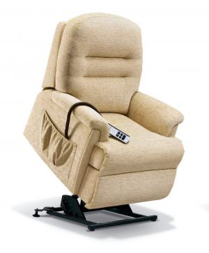 Sherborne Keswick Petite Fabric Riser Recliner chair