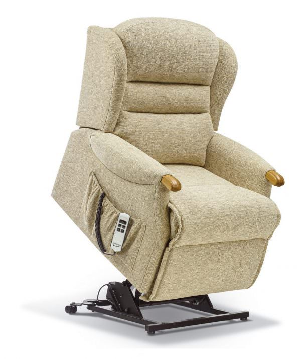 Sherborne Ashford Knuckle Petite Fabric Riser Recliner chair