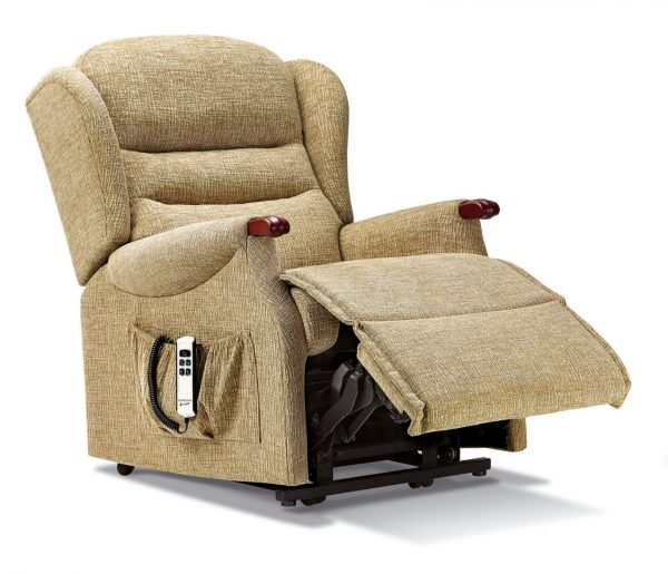 Sherborne Small Ashford Knuckle Fabric Riser Recliner chair