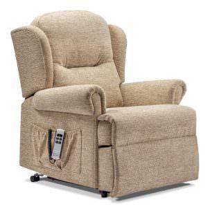 Sherborne Malvern Petite Fabric Riser Recliner chair