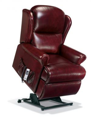 Sherborne Standard Malvern Leather Riser Recliner chair