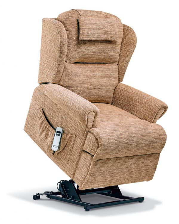 Sherborne Standard Malvern Fabric Riser Recliner chair
