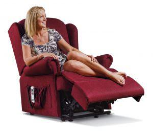 Sherborne Malvern Royale Fabric Riser Recliner chair