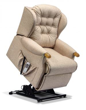 Sherborne Lynton Knuckle Petite Fabric Riser Recliner chair