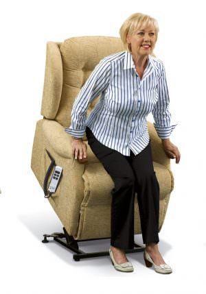 Sherborne Standard Lynton Knuckle Fabric Riser Recliner chair