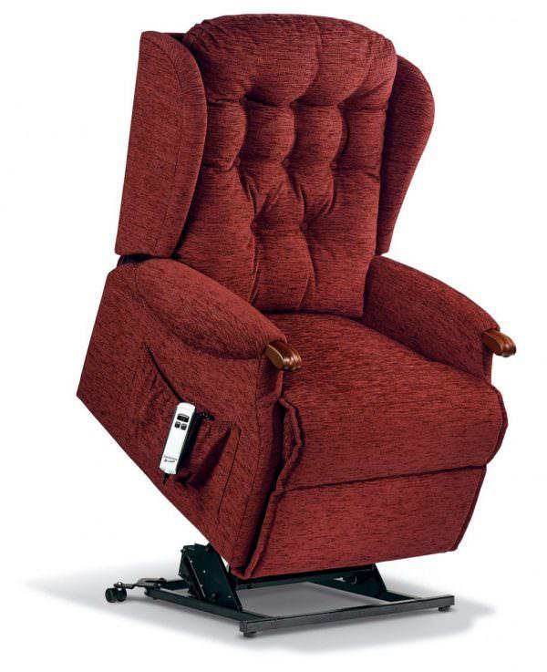 Sherborne Lynton Knuckle Royale Fabric Riser Recliner chair