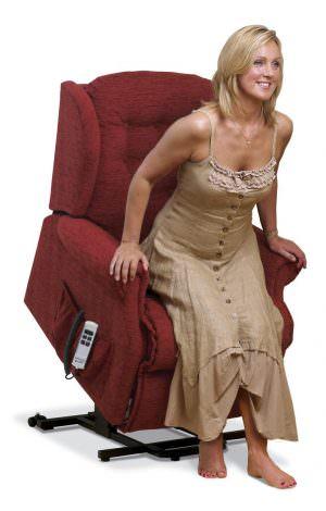 Sherborne Small Lynton Fabric Riser Recliner chair