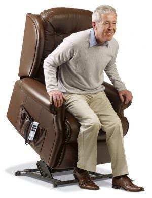 Sherborne Lynton Royale Leather Riser Recliner chair
