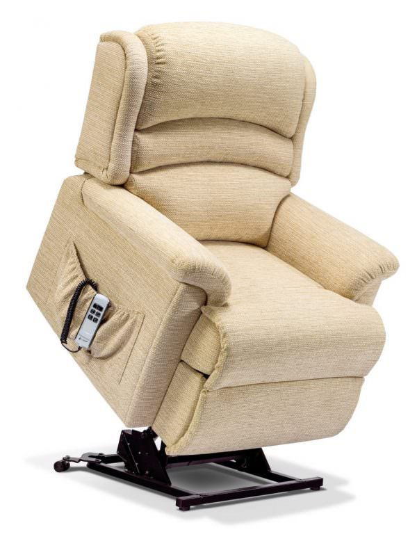 Sherborne Small Olivia Fabric Riser Recliner chair