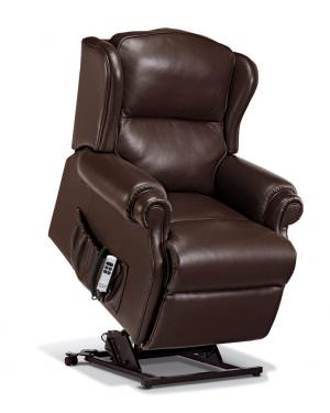Sherborne Small Claremont Leather Riser Recliner chair