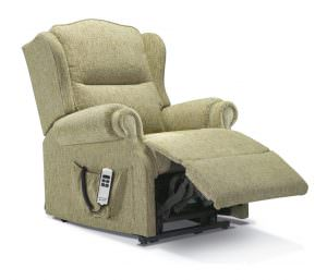 Sherborne Small Claremont Fabric Riser Recliner chair