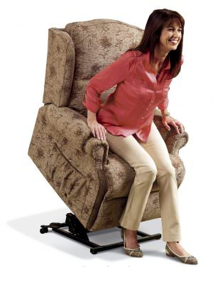 Sherborne Standard Claremont Fabric Riser Recliner chair