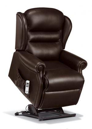 Sherborne Standard Ashford Leather Riser Recliner chair