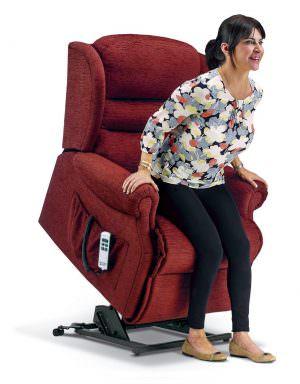 Sherborne Standard Ashford Fabric Riser Recliner chair