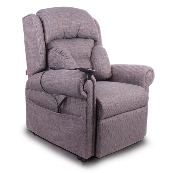 Pride Essex Fabric Riser Recliner chair