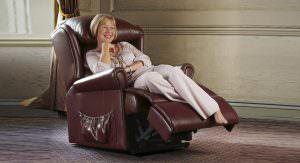 Sherborne Standard Windsor Leather Riser Recliner chair