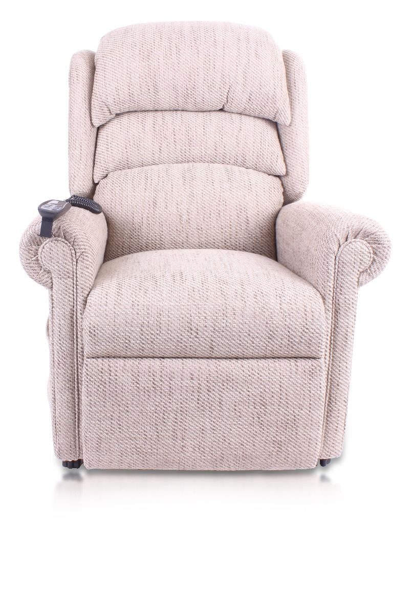 Pride Sussex Fabric Rise And Recliner Chair Recliners